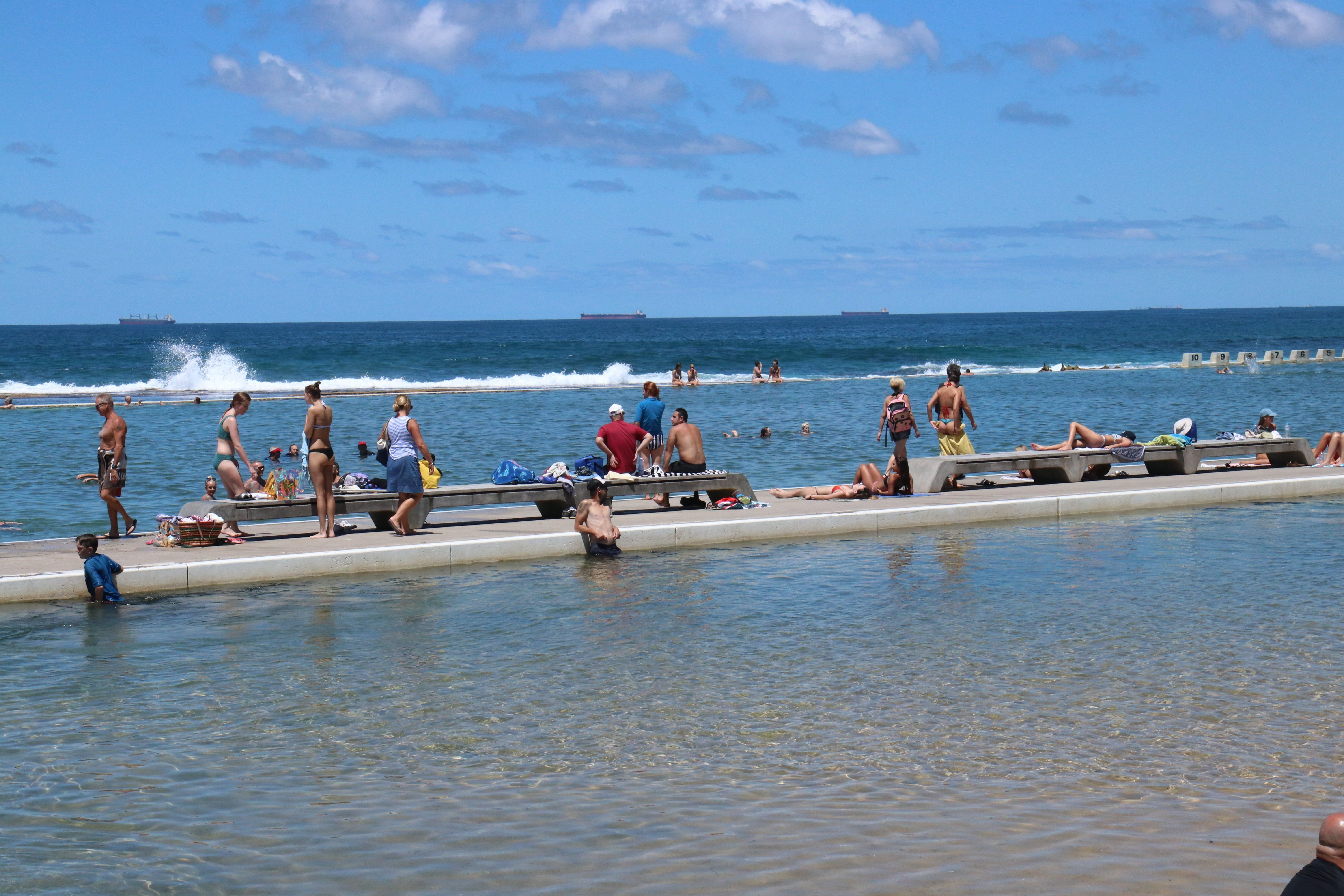 Merewether Ocean Baths - Accommodation NT