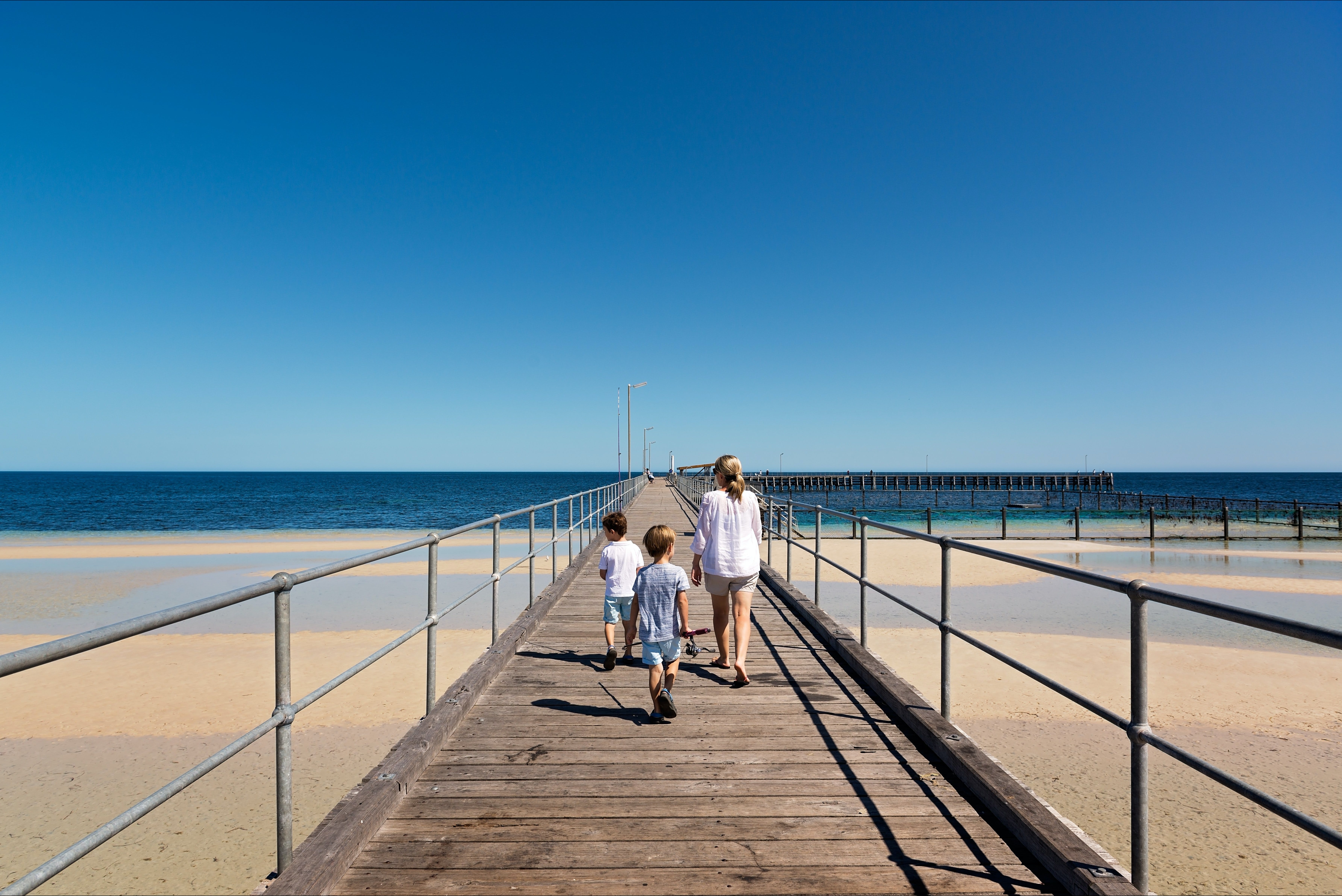 Moonta Bay Jetty - Accommodation NT