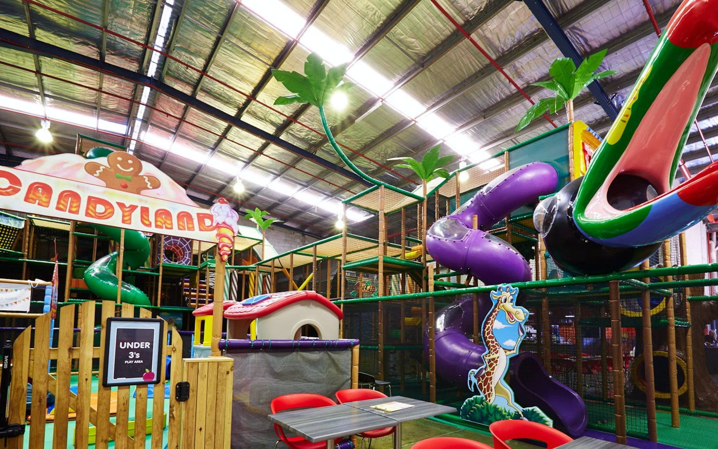 Little Dynamo's indoor play centre and cafe - Accommodation NT