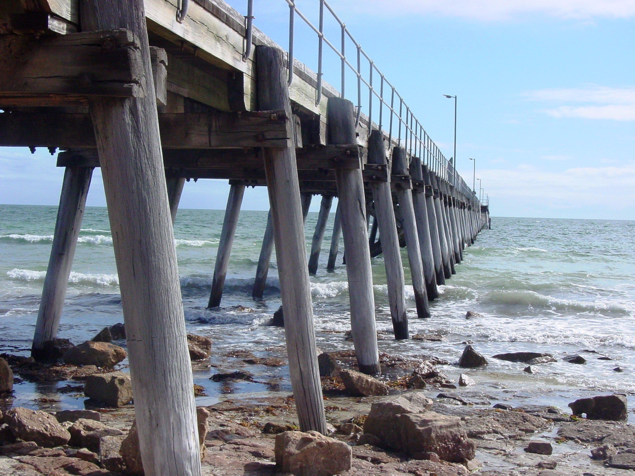 Port Hughes Jetty - Accommodation NT