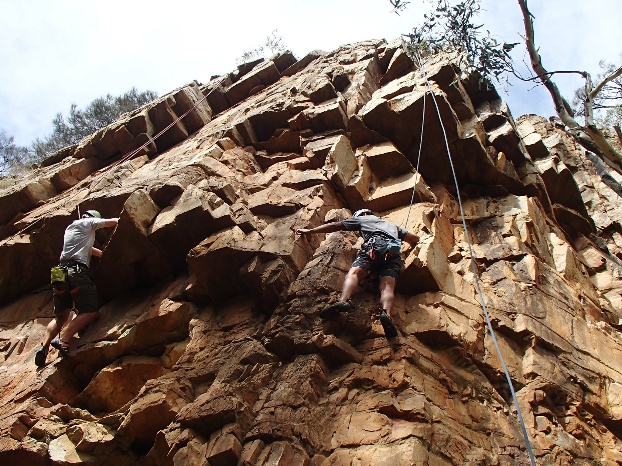 Rock Climbing in Morialta - Accommodation NT