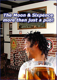 Moon and Sixpence British Pub - Accommodation NT