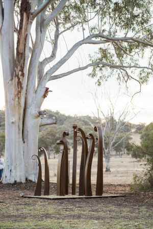 Sculptures in the Garden - Accommodation NT