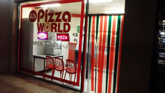 A.J's Pizza World - Accommodation NT