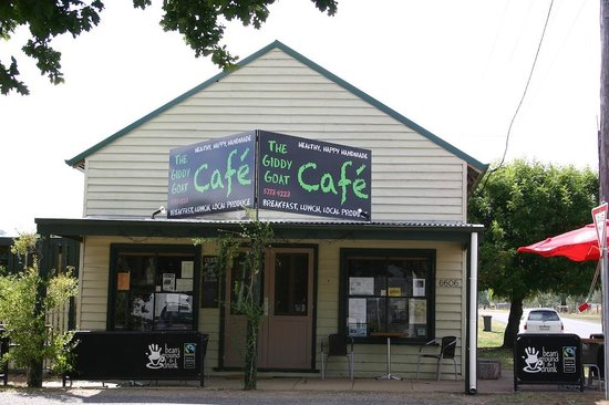 The Giddy Goat Cafe - Accommodation NT