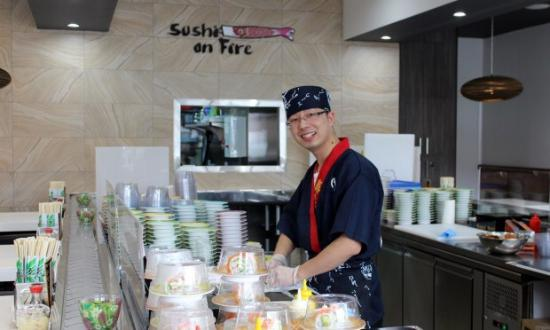 Sushi On Fire - Accommodation NT