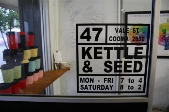Kettle  Seed Cafe and Coffee Roaster - Accommodation NT
