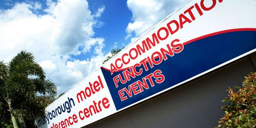 Maryborough Motel  Conference Centre - Accommodation NT