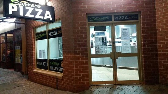 Spinners Pizza - Accommodation NT