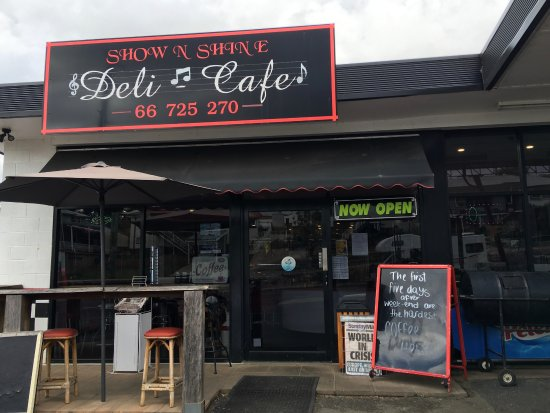 Show  Shine Deli Cafe - Accommodation NT