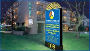 Capital Executive Apartment Hotel - Accommodation NT